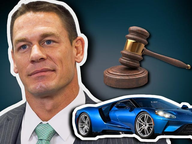 John Cena Ain't Mad At Ford Despite Getting Sued By Ford