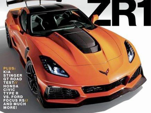 The 750 Horsepower 2019 Chevrolet Corvette ZR1: This Is It (UPDATED)