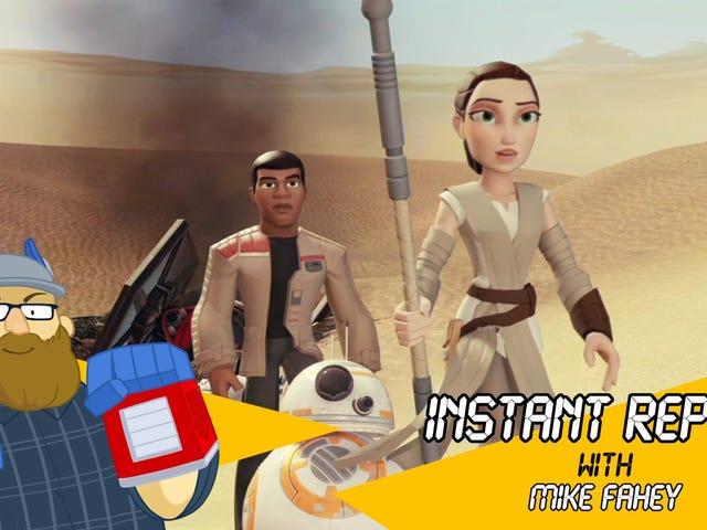 Star Wars The Force Awakens mérite un meilleur ensemble de jeu Disney Infinity