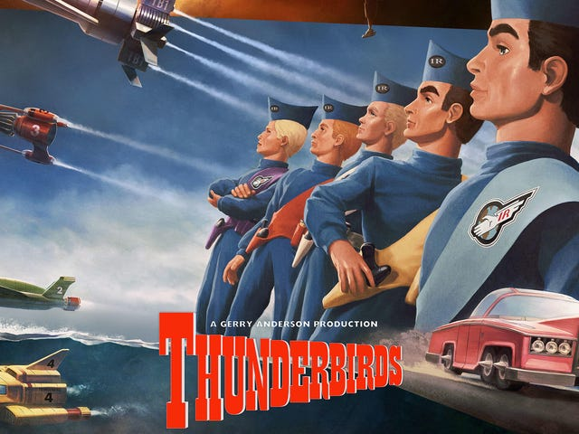 Thunderbirds Are Go With a New Line of Collectibles