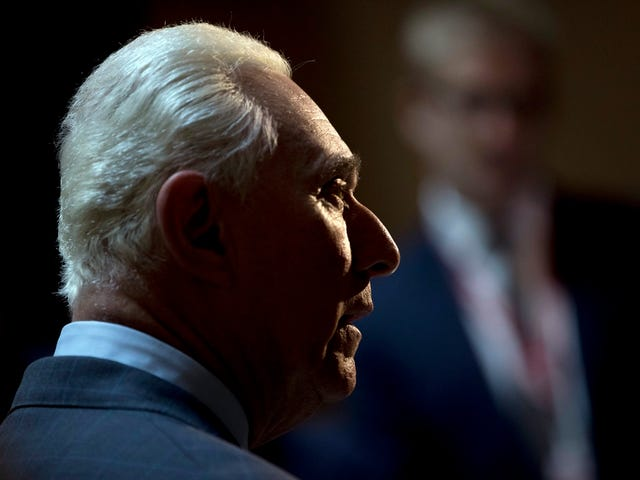 Roger Stone, President Trump's Attack Dog, Banned From Twitter For Harassing Journalists