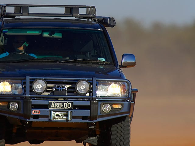 100 Series Land Cruiser.