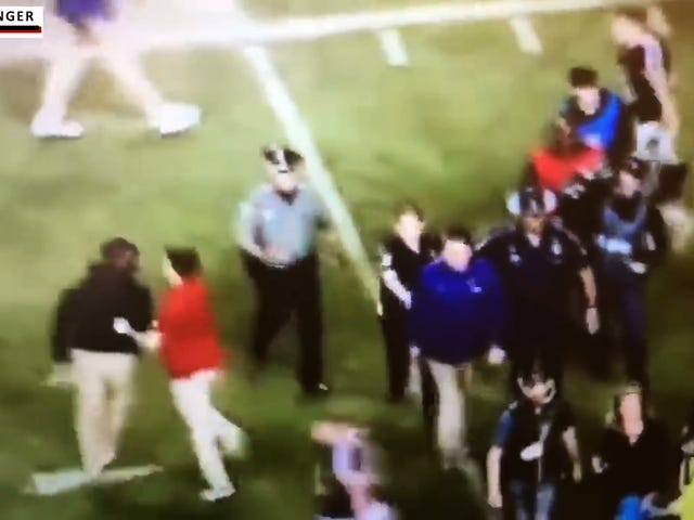 There's Some More Video Of The LSU–Texas A&M Fight