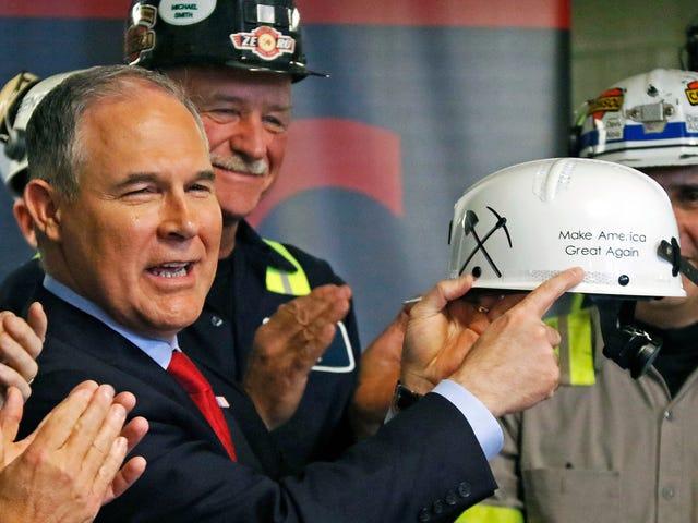 Scott Pruitt's Big, Dumb Climate Debate Might Really Happen
