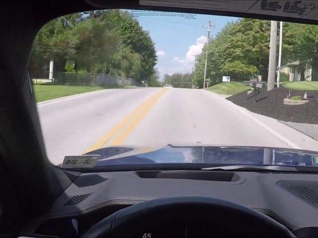 BMW 330i POV Drive on Country Roads