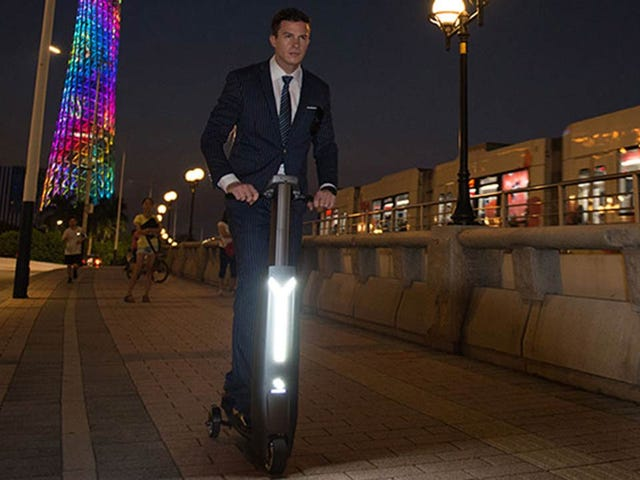 Is This Fast Electric Scooter Impossibly Awesome or Totally Lame?