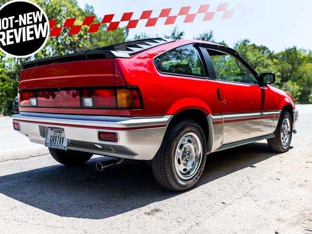 1984 Honda CRX: Tại sao anh chàng này giảm 10.000 đô la để khôi phục lại một