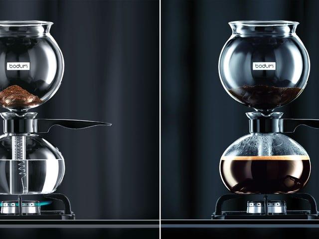 Bodum Pebo: A Simple, Beautiful Vacuum Coffee Maker
