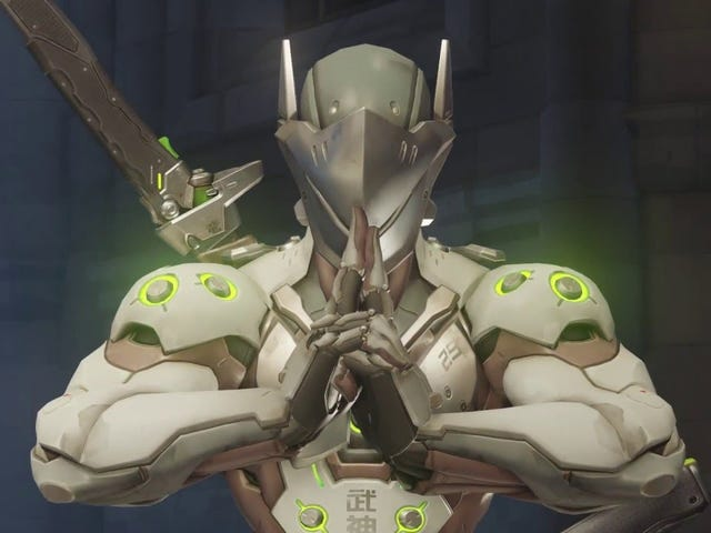Honorable Overwatch Pro Spares Apparently Lagging Opponent