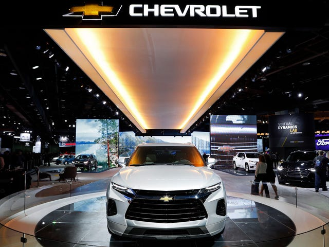 GM Pauses Production Of Contentious Mexico-Made Chevy Blazer
