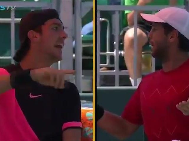 """Tennis Players Squabble Over The Identity Of One Guy's Father: """"That's My Fucking Dad"""""""