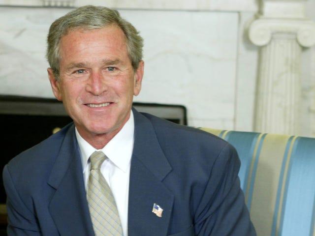 Selv George W. Bush er mot Trumps hat av media