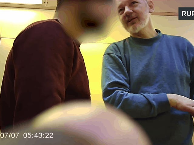 Russian Propaganda Outlet Claims You Can't Embed This Leaked Video of Julian Assange