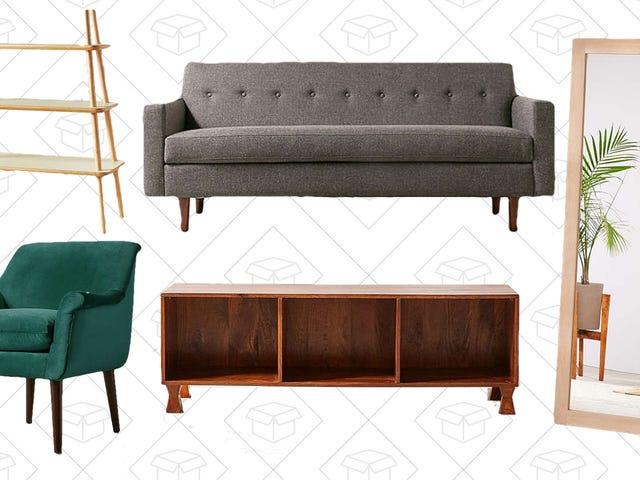Redo din plats för upp till 40% rabatt med Urban Outfitters Möbelförsäljning
