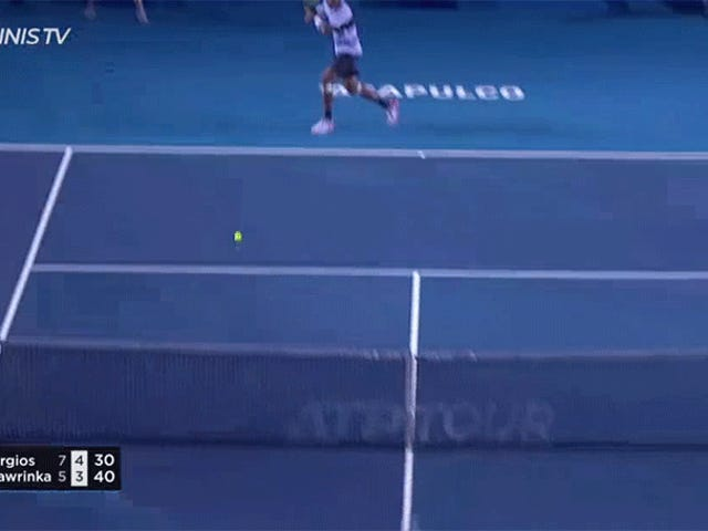 Nick Kyrgios Was More Than Happy To Be The Villain And Crush Some Forehands