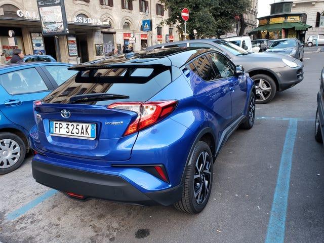 Đi xe nhanh chóng phát hiện ở Rome