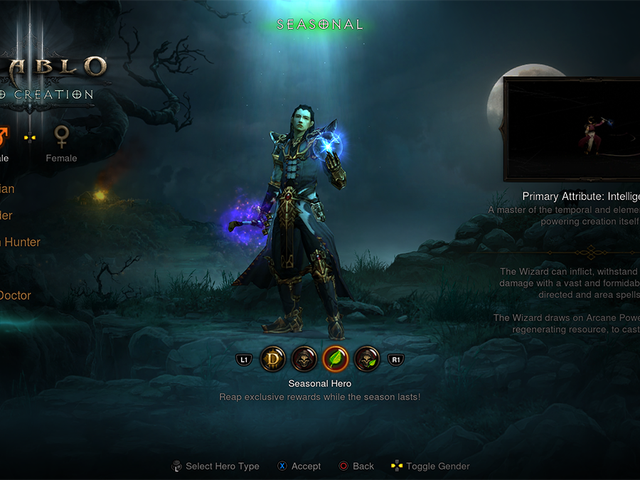 Diablo III Seasons Finally Come To Consoles