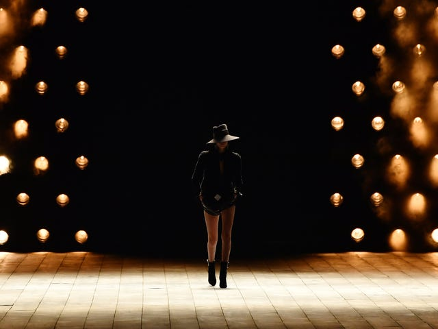 Paris Fashion Week: Saint Laurent Shows Us the Appeal of All-Black Everything