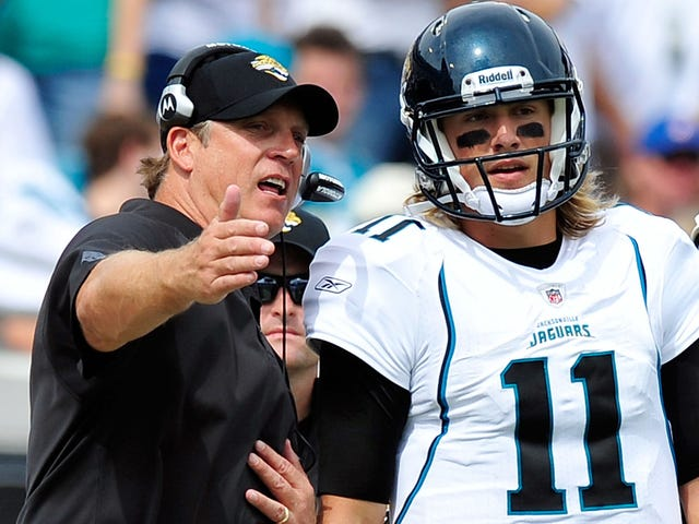 Jack Del Rio Was At The Buffet When The Jaguars Decided To Draft Blaine Gabbert