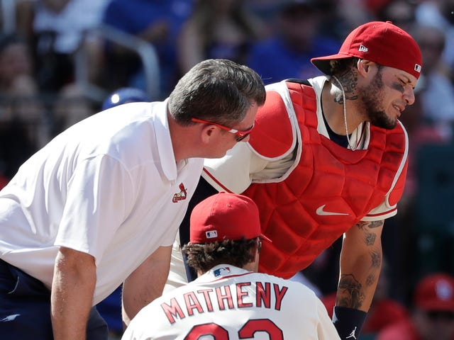 Yadier Molina Undergoes Surgery After Taking Fastball To The Dick And Balls