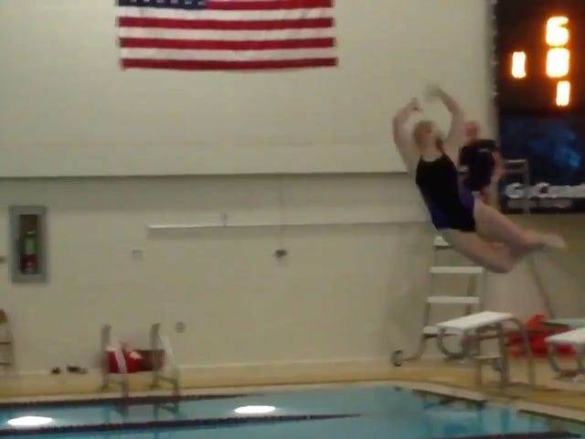 The Sports Highlight Of The Day Is This Failed Dive