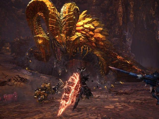 Ο επικίνδυνος δράκος Kulve Taroth επιστρέφει στο Monster Hunter: World από τις 25 Μαΐου μέχρι την 1η Ιουνίου. Αν ήταν μόνο μια κλίμακα ...