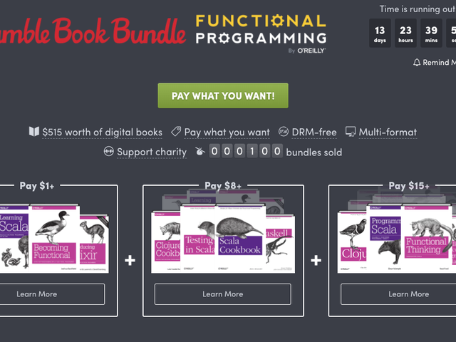 This Humble Bundle Is Designed For Current or Aspiring Programmers
