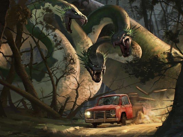 I Mythgard, Monsters Still Roam The Earth