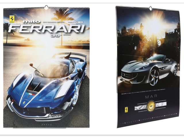 Thousands of People Paid Nearly $100 for a Ferrari Scratch-and-Sniff Calendar