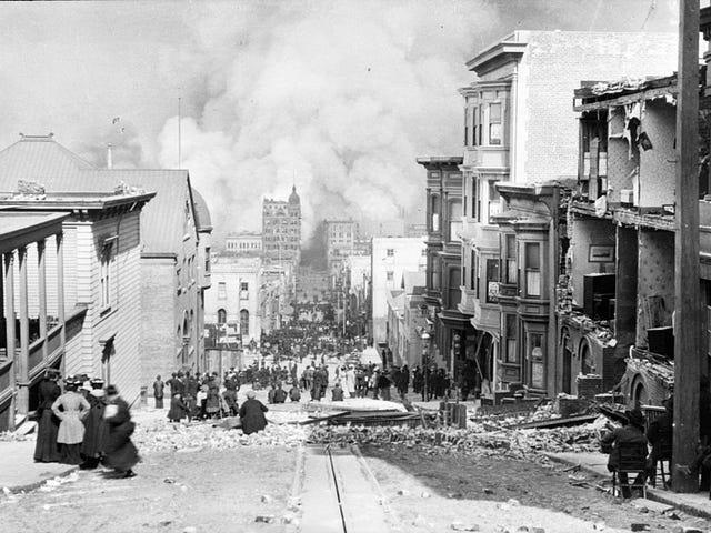 """San Francisco, April 18th, 1906"""