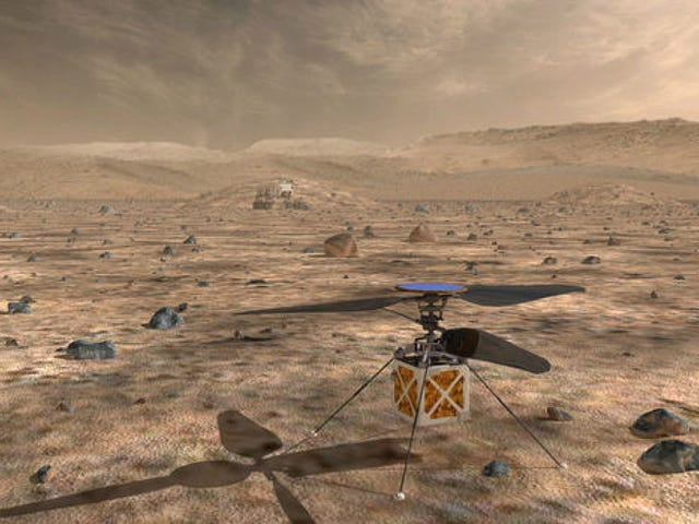 Here's Why NASA Is Sending a Miniature Helicopter to Mars