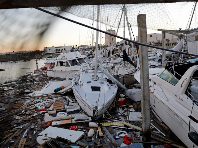 Widespread Cable, Internet, and Radio Outages Mark Hurricane Michael's Path of Destruction
