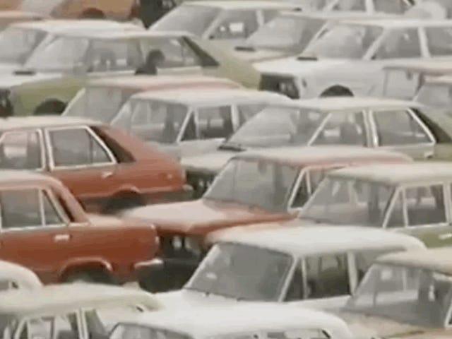 En av de beste Old <i>Top Gear</i> episoder Utvalgte polske bilkultur etter år med kampsport