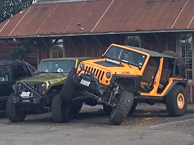 Jeep Parking Only