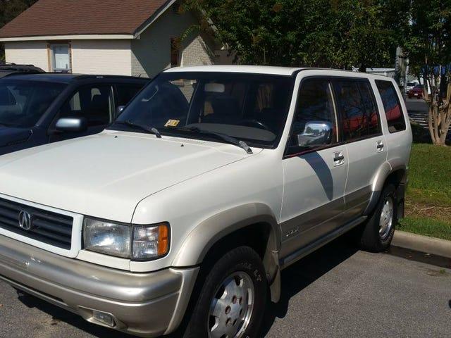 Για $ 2.350, θα υιοθετήσετε αυτό το 1997 Acura SLX Brother από άλλη μητέρα;