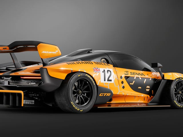 The McLaren Senna GTR Concept Has No Regard For Your Puny 'Laws Of Physics'