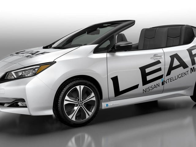 Nissan Leaf Convertible: Good