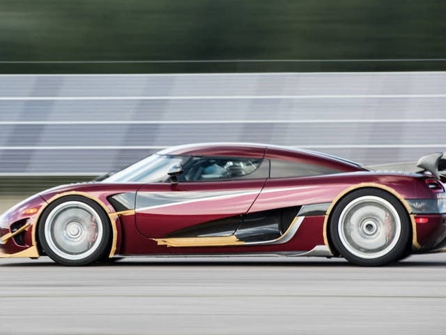 A Nevada Highway Is Shutting Down For Koenigsegg's Attempt At A Speed Record (Updated)