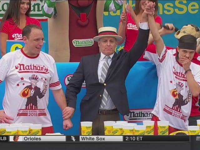 Matt Stonie Shocks World, Defeats Joey Chestnut