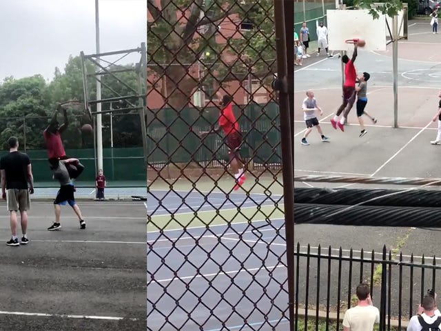 Joel Embiid Keeps Showing Up At My Neighborhood Playground To Dunk On Civilians