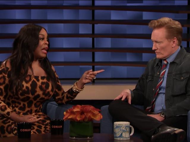 Niecy Nash tells Conan how getting nearly killed by Oprah isn't so bad