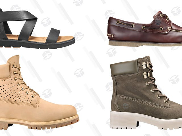Timberland Is Booting Up Their Summer Sale With 30% Off Select Styles