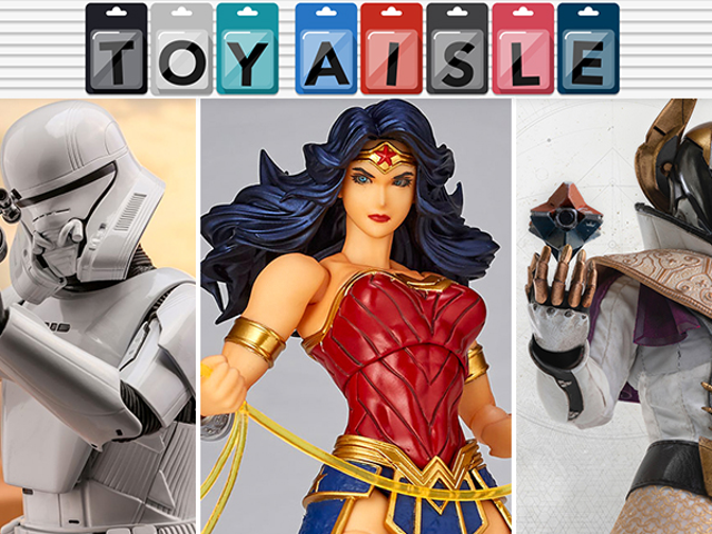 A Wonderfully Articulated Wonder Woman Is the Most Super Toy of the Week