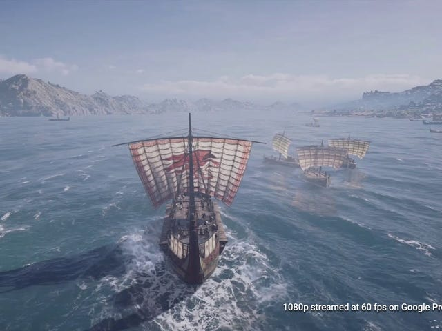 Play 'Assassin's Creed Odyssey' for Free by Beta Testing Google's Cloud Streaming Service