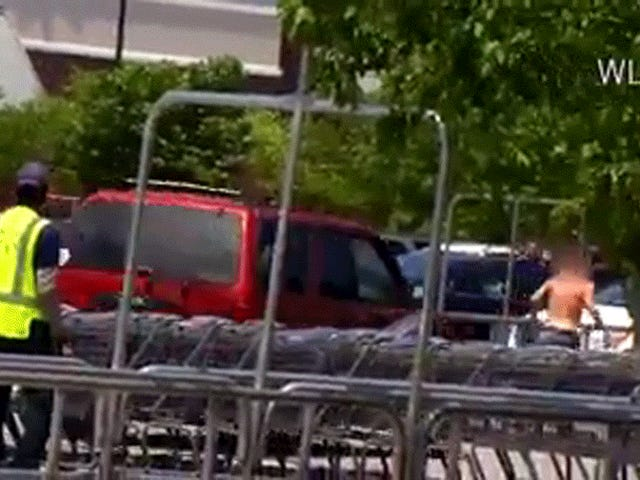 Pregnant Woman Mows Down Alleged Thief In Parking Lot
