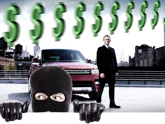 $1 Million In Range Rovers Stolen From James Bond Production