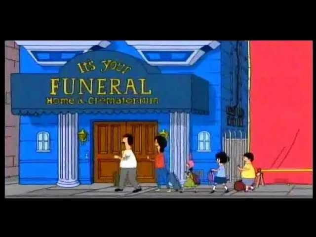 Estoy publicando desde una funeraria