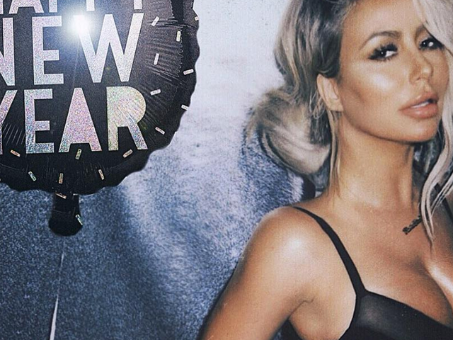 Aubrey O'Day's Donald Trump Jr.-Themed New Year's Eve Party Turned Into a Mess