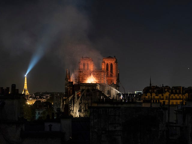 Head of French Luxury Group Pledges to Donate $113 Million to Rebuild Notre Dame