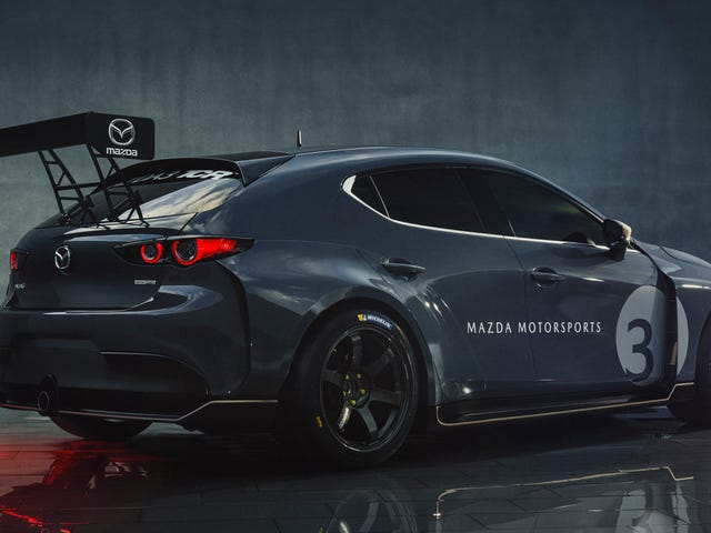 The Mazda 3 TCR Race Car Has The Attitude And Fender Flares The 3 Has Always Deserved